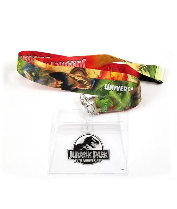 Jurassic Park 25th Anniversary Universal Studios Lanyard Tyrannosaurus Rex