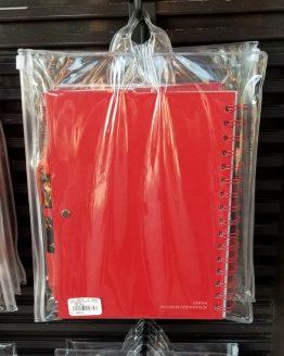 Jurassic World Universal Studios Spiral Notebook w/ Pen - Volcano Fire TRex