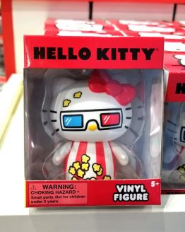 Hello Kitty Sanrio Universal Studios Vinyl Figure 3D Movie Glasses Popcorn