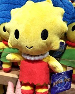 "The Simpsons Universal Studios Parks Plush Baby Cute Cutie - Lisa 9"""