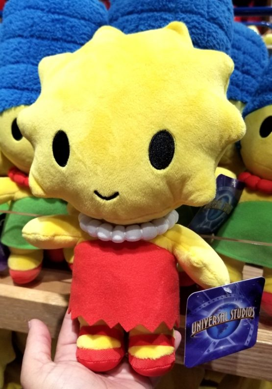 The Simpsons Universal Studios Parks Plush Baby Cute Cutie - Lisa 9""