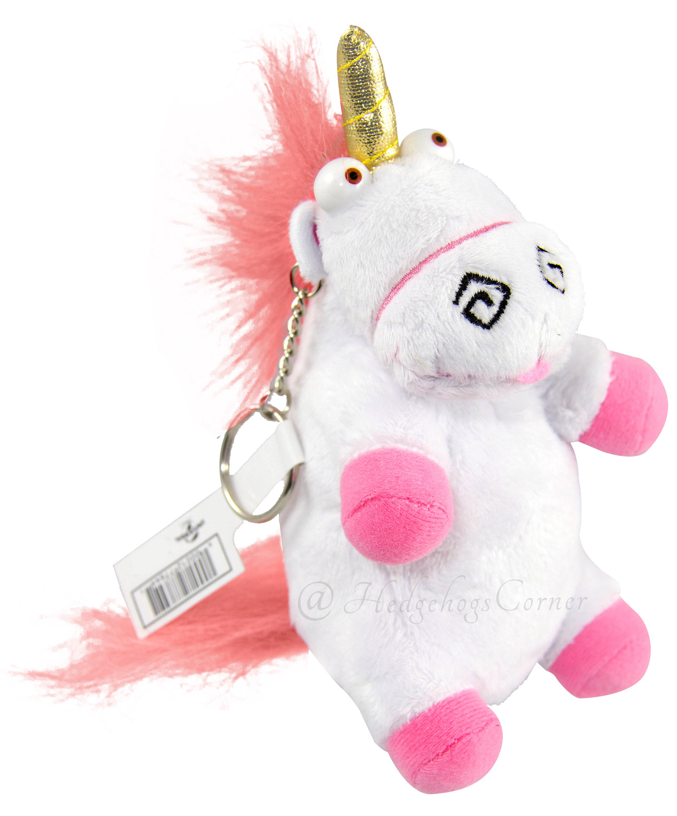 Despicable Me Universal Studios Parks Plush Keychain It S So Fluffy Unicorn