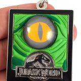 Jurassic World Universal Studios Parks Key Chain - Green Raptor Eye