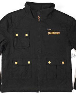 Jurassic World Fallen Kingdom Universal Studios Parks Men's Jacket Fire Volcano Logo