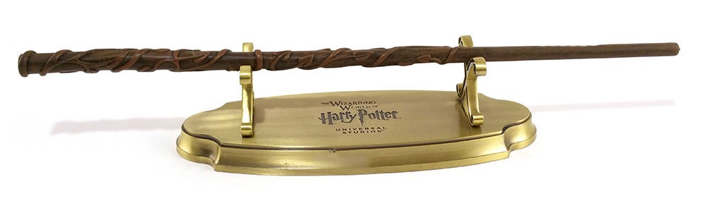 Wizarding World of Harry Potter Universal Studios Parks Metal Single Wand Display Stand