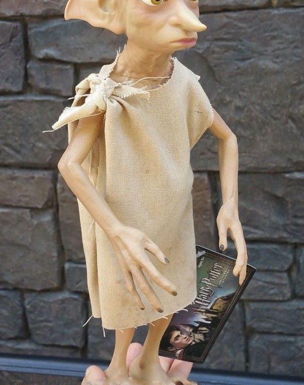 "Wizarding World of Harry Potter Dobby Free Elf Plastic Doll Figure 13"""