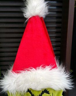 Dr Seuss The Grinch Universal Studios Parks Red Santa Hat