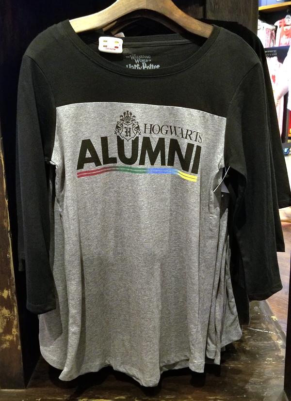 Wizarding World of Harry Potter Universal Studios Parks Hogwarts Alumni Men's Raglan Shirt