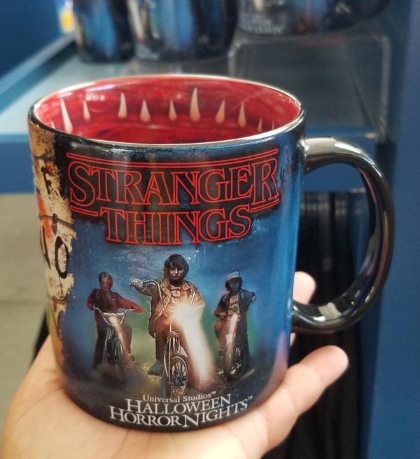 Halloween Horror Nights Universal Studios Parks HHN 2018 16oz Stranger Things Mug