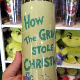 Dr Seuss The Grinch Universal Studios Parks 14oz Stainless Steel Transit Travel Mug