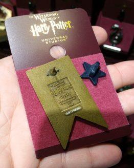 Wizarding World of Harry Potter Universal Studios Parks Trading Pin - Hufflepuff Metal Banner