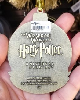 Wizarding World of Harry Potter Universal Studios Ornament Mascot Medallion Hufflepuff