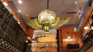 Globus Mundi Detailed Shop Ceiling | Photo by: @hedgehogscorner