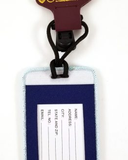 Wizarding World of Harry Potter Universal Studios Parks Luggage Tag 4x2- Globus Mundi