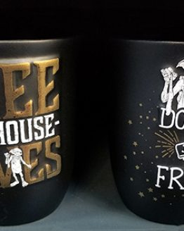 Wizarding World of Harry Potter Universal Studios Parks Coffee Mug Dobby Free the House Elves