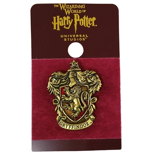 Wizarding World of Harry Potter Trading Pin Gryffindor Glitter Crest