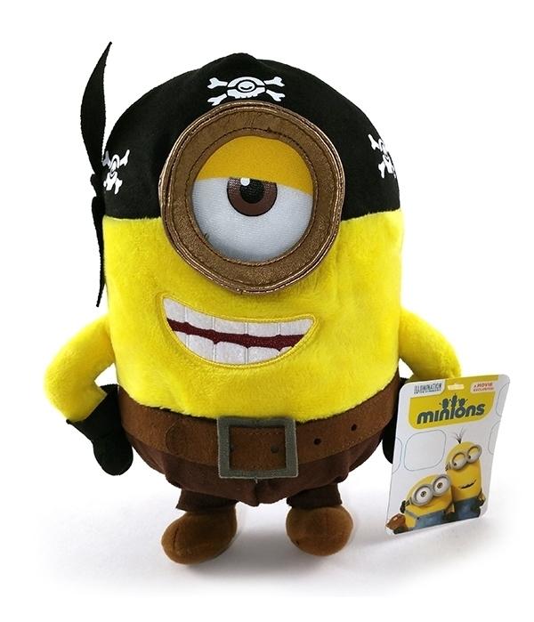 Despicable ME Minions Movie Universal Studios Parks 10″ Plush Minion Pirate