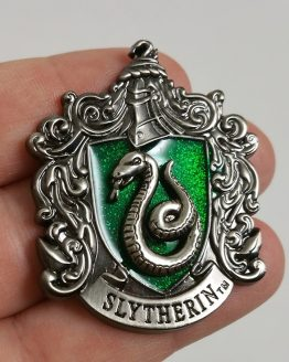 Wizarding World of Harry Potter Trading Pin Slytherin Glitter Crest