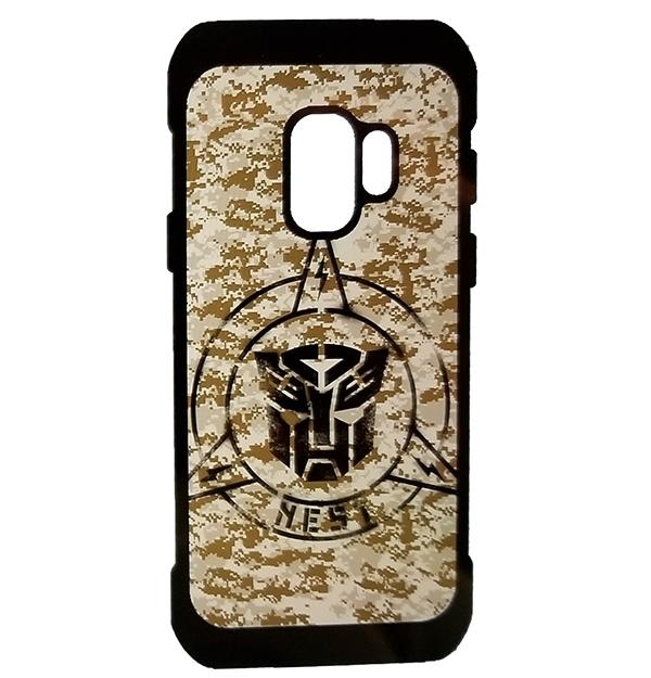 Transformers Universal Studios Parks Cell Phone Cover Samsung S9 NEST Camo Logo