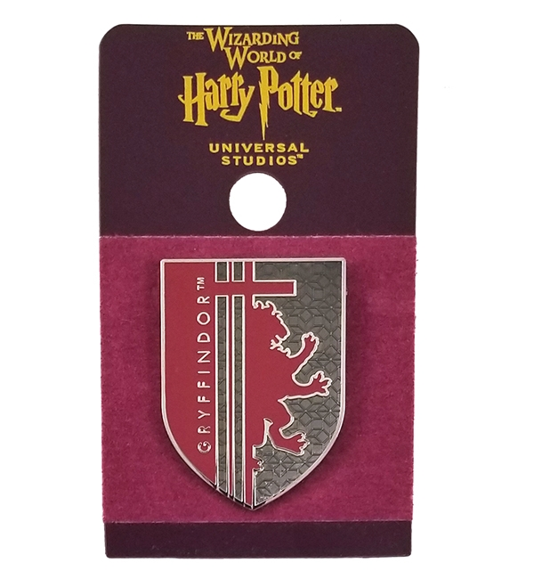 Wizarding World of Harry Potter Universal Studios Parks 2019 Trading Pin – Gryffindor Red Shield