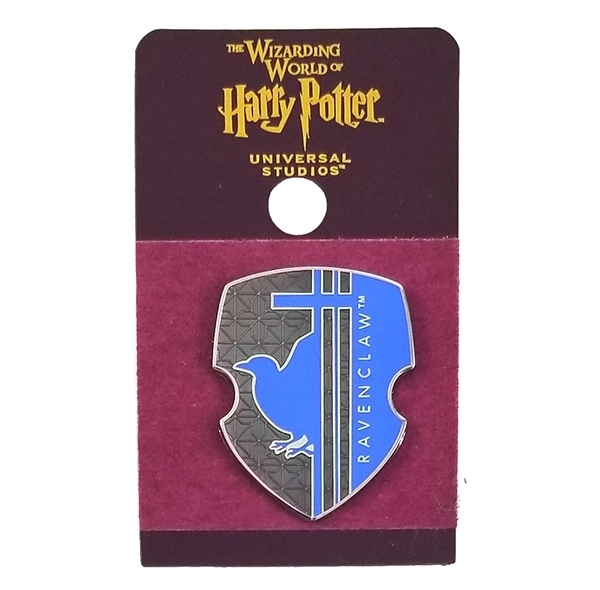 Wizarding World of Harry Potter Universal Studios Parks 2019 Trading Pin – Ravenclaw Blue Shield
