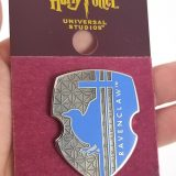 Wizarding World of Harry Potter Universal Studios Parks 2019 Trading Pin - Ravenclaw Blue Shield