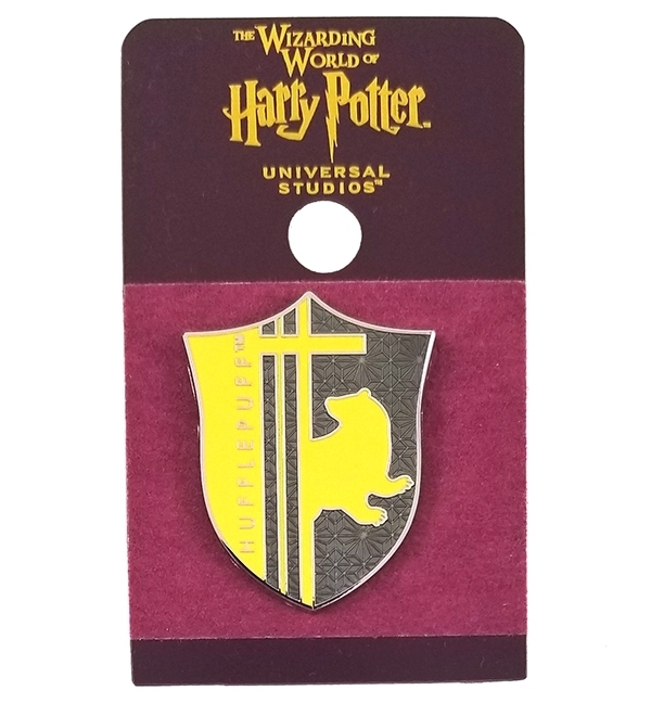 Wizarding World of Harry Potter Universal Studios Parks 2019 Trading Pin – Hufflepuff Yellow Shield