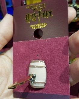 Wizarding World of Harry Potter Universal Studios Parks Trading Pin - Pumpkin Juice Keg Tap Handle