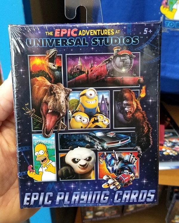 The 2019 Epic Adventures of Universal Studios Parks –  Epic Playing Cards