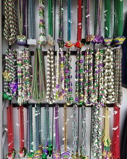 Assorted Mardi Gras Beads