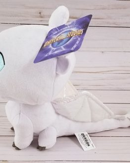 "How to Train Your Dragon Universal Studios Parks Plush 7"" Cute Light Fury Dragon"