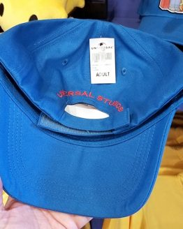 The Simpsons Universal Studios Parks Adult Blue Baseball Hat - Family on Couch