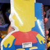 The Simpsons Universal Studios Parks Bart Simpson Uni-Minis Spiral Notebook