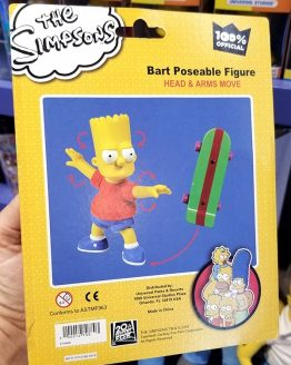 The Simpsons Universal Studios Parks Bart Simpson Poseable Figure Toy