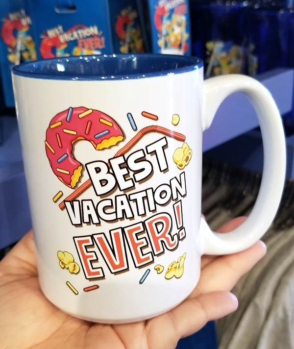 The Simpsons Universal Studios Parks Best Vacation Ever Coffee Mug