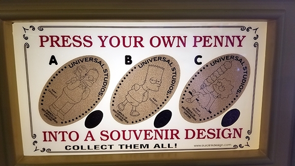 3 Pressed Penny Set Family