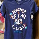 Dr Seuss Cat in the Hat Universal Studios Shirt - Teacher of All Things Blue