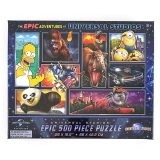The 2019 Epic Adventures of Universal Studios Parks - 500 Piece Puzzle 26x16