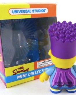 The Simpsons Universal Studios Parks Bartman Bart Simpson Uni-Minis Vinyl Figure Toy