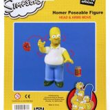 The Simpsons Universal Studios Parks Homer Simpson Poseable Figure Toy