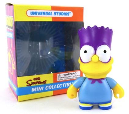 The Simpsons Universal Studios Parks Bartman Bart Simpson Uni-Minis Vinyl Figure Toy