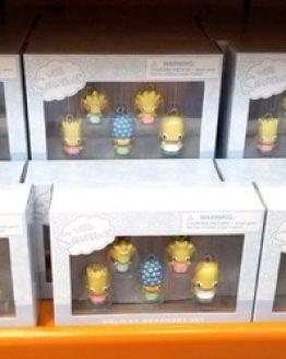 Mini Holiday Ornaments (5 Figurine) Set