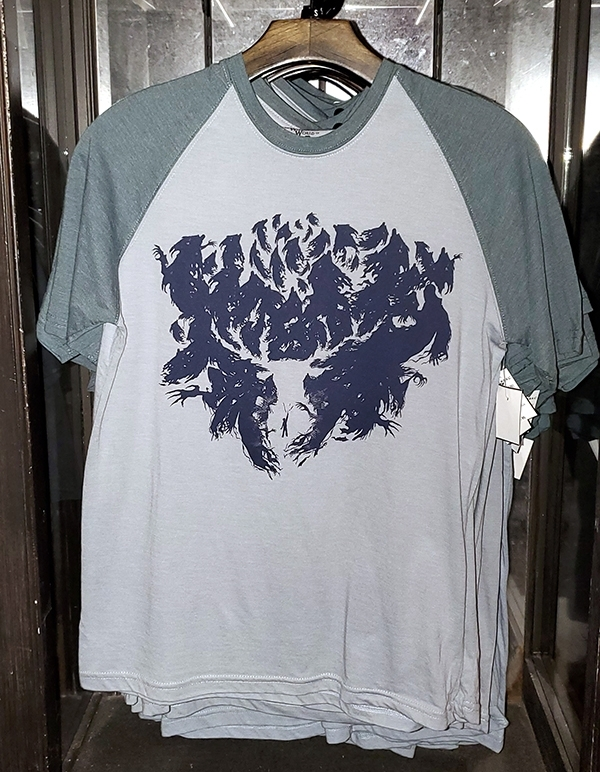 Wizarding World of Harry Potter Universal Studios Parks Men's Raglan Shirt Patronus Silhouette