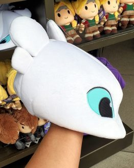 How to Train Your Dragon Universal Studios Parks Plush Light Fury Dragon Hat
