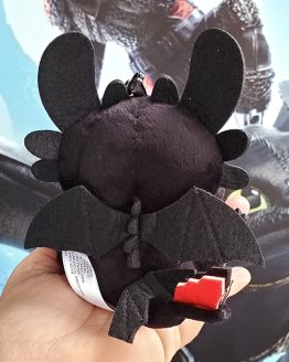 How to Train Your Dragon Universal Studios Parks Keychain Plush Toothless