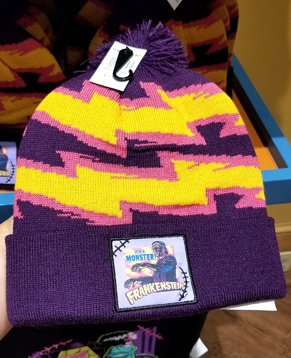 Universal Classic Monsters - Universal Studios Parks Frankenstein Lightning Pom Beanie Hat