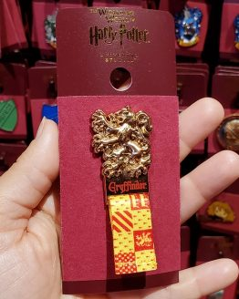 Wizarding World of Harry Potter Universal Studios Parks Trading Pin - Gryffindor Lion Ribbon Badge