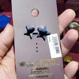 Wizarding World of Harry Potter Universal Studios Parks Trading Pin - Slytherin Snake Ribbon Badge