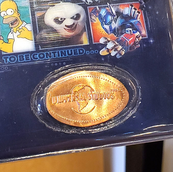 The Epic Adventures of Universal Studios Parks - Collectible Pressed Penny Smashed Coin Souvenir Album Holder