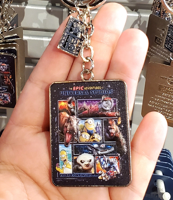 The Epic Adventures of Universal Studios Parks –  Keychain Character Collage